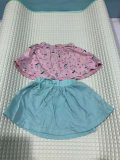 Mothercare skirts