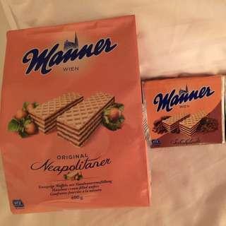 奧地利直送 榛子味威化餅 400g 大包裝
