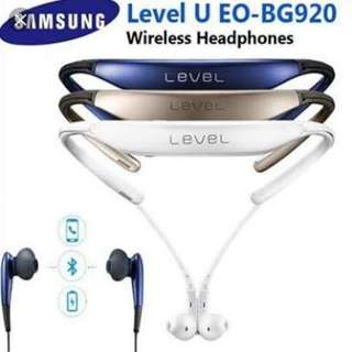Samsung Level U Bluetooth wireless in-ear headphone