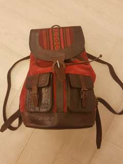 Beara beara 英國handmade 牛皮背包