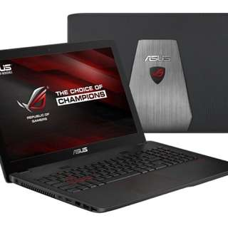 ASUS ROG GL552 i7 with HyperX gaming Ram