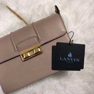 Jiji by Lanvin Bag in smooth calfskin - Small Beige