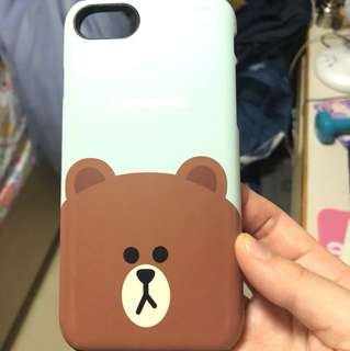 Line brown iphone 手機殼