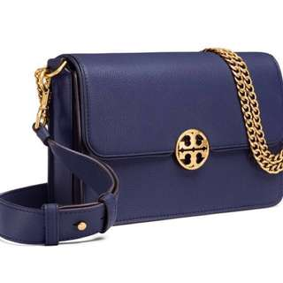 美國專櫃 TORY BURCH CHELSEA SATCHEL 全皮手袋 100%正品