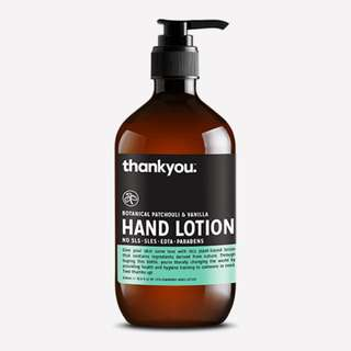 BOTANICAL PATCHOULI & VANILLA HAND LOTION | 500ML