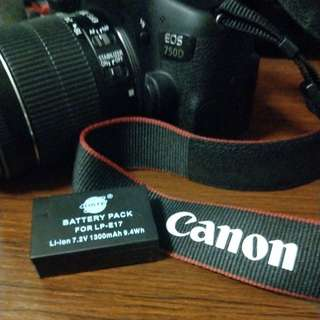 Aftermarket Battery For Canon 750D LP-E17