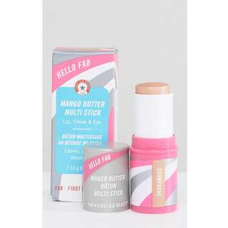 First Aid Beauty Hello FAB Mango Butter Multi Stick in Champange