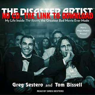 The Disaster Artist by Greg Sestero AUDIOBOOK