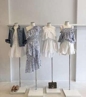 Steele Riviera ruffle midi dress XS $269 in stores now