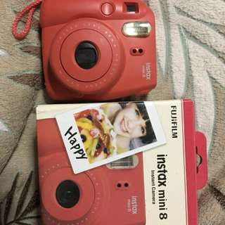 Instax Mini 8 Raspberry