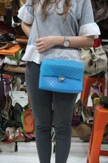 Jelly bag in blue