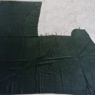 Dark green soft cotton