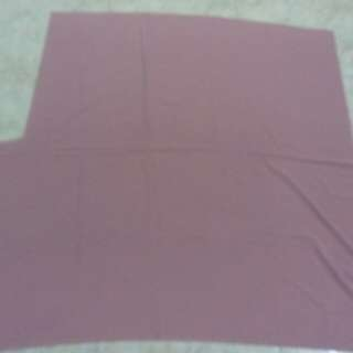 Pink fabric not cotton