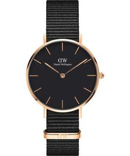 Daniel Wellington Classic Black 32mm petite black Nato