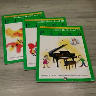 Piano Books - Alfred's Basic Piano Library (Level 1B)