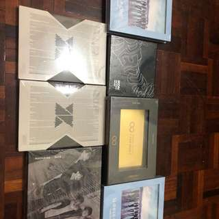 [READY STOCK ALBUMS] Various groups