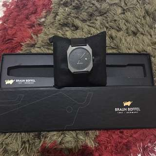 Braun Buffel Watch