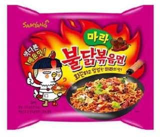 韓國 三養 4倍麻辣 辣雞麵 泡麵  SAMYANG