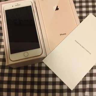 Iphone 8 Plus 256 GB Gold New With Box Seal On Phone Intact