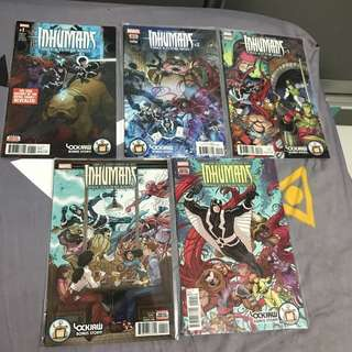 Inhumans once and future kings 1-5