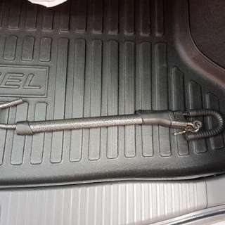 Car brake lock