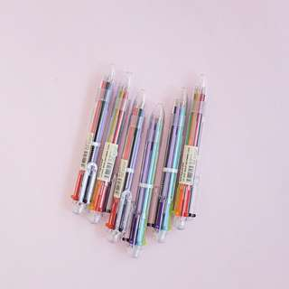[NEW] Six Colors in One Ballpoint Pen