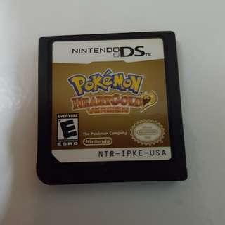 Nintendo DS Pokemon Heartgold