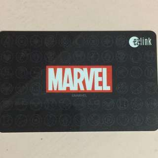 Limited Edition brand new Marvel Logo Design ezlink Card For $15.
