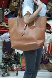 Tote bag brown