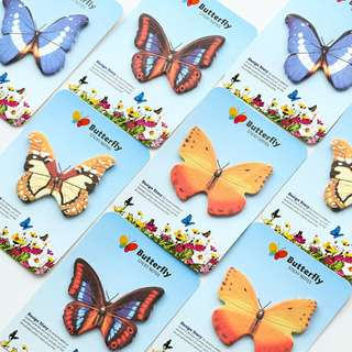 [NEW] Butterfly Species Sticky Notes Post-its