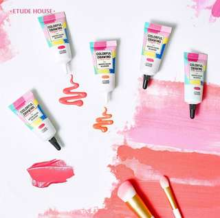 [🌸ETUDE PO] ETUDE HOUSE COLORFUL DRAWING WATER COLOR BLUSHER