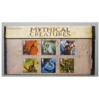GB UK 英國 - 2009 MYTHICAL CREATURES Presentation Pack 428 MNH