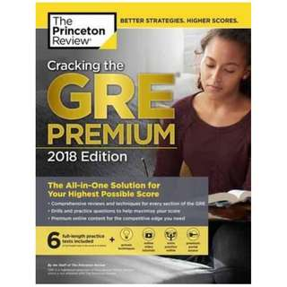 Princeton Review GRE 2018 and Official GRE Verbal Reasoning