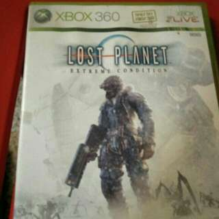 Xbox 360 Lost planet