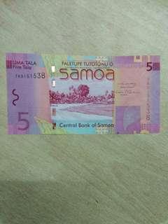 Samoa 5 Tala 2012