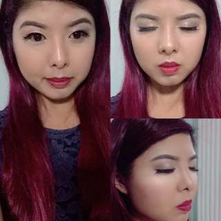 Makeup and hair service