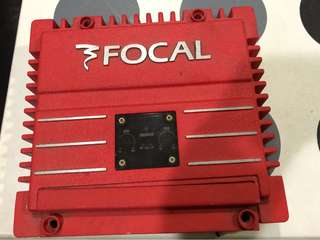 Focal solid2 red subwoofer amplifier