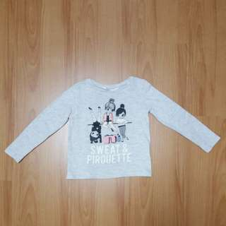 H&M ballerina tshirt