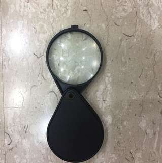Portable brand new magnifying glass
