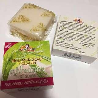 K Brothers Rice Milk Collagen Soap