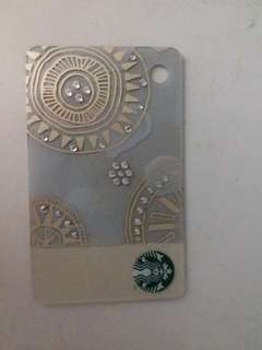 Swarovski starbucks card