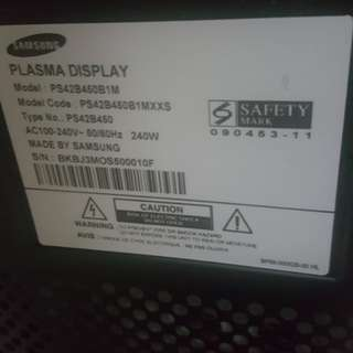 "50"" Used Samsung Plasma tv for sale"