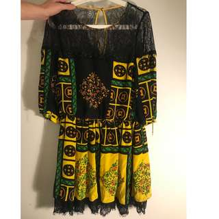 100% silk dress for sale!