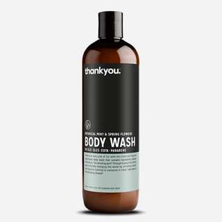 BOTANICAL MINT & SPRING FLOWERS BODY WASH | 500ML