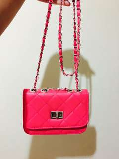 Pink Sling Bag (No Label)