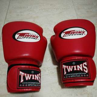 TWINS 14 Oz boxing Muay Thai gloves
