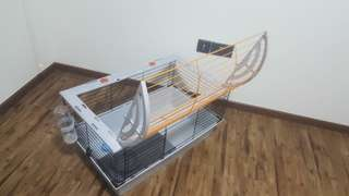 Rabbit / chinchilla / guinea pig / cat cage