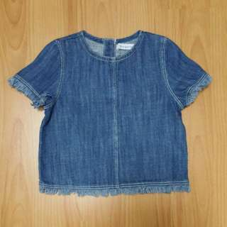 Gingersnaps 4yo Denim Top