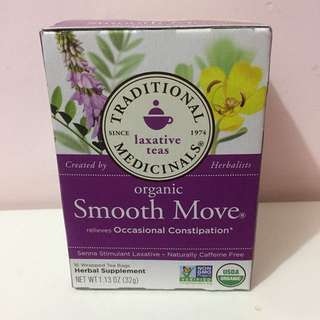 Traditional Medicinals Laxative Teas - Smooth Move 通便茶
