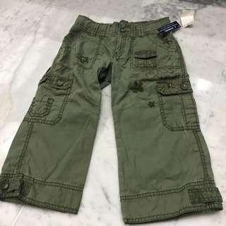 Gap cargo shorts size 7 girls